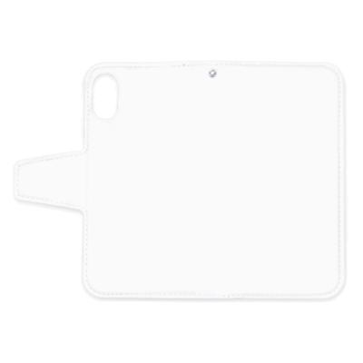 特急プリント iPhone X/XS 手帳型ケース