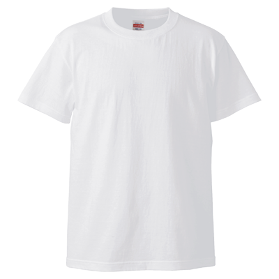 反射プリント United Athle 5.6oz Tシャツ 5001-01