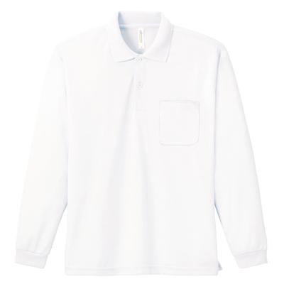 Printstar 4.4oz ドライ長袖ポロシャツ(ポケット付) 335-ALP