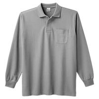 Printstar 5.8oz 長袖ポロシャツ(ポケット付) 169-VLP
