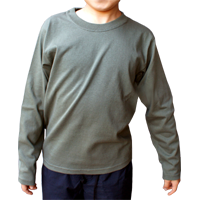 Cross Stitch 6.2oz オープンエンド 長袖Tシャツ(キッズ) OE1210