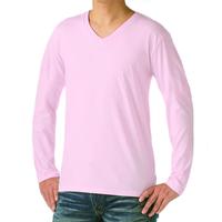 TRUSS 4.3oz スリムフィット Vネック長袖Tシャツ SVL-115