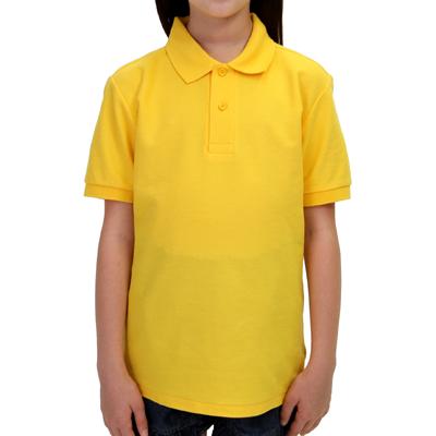 Printstar 5.8oz ベーシックポロシャツ(キッズ) 141-NVP
