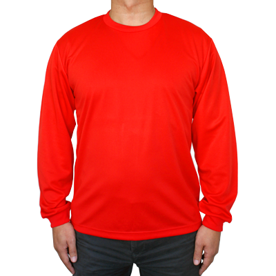 GLIMMER 4.4oz ドライ 長袖Tシャツ 304-ALT