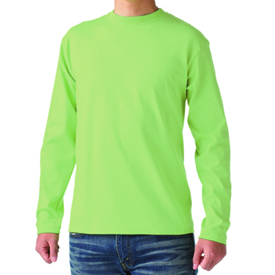Cross Stitch 6.2oz オープンエンド 長袖Tシャツ OE1210