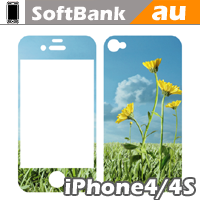 iPhone 4/4S用スキンシール | SoftBank/au | Apple